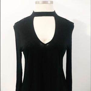 Pretty Black Cotton Blouse